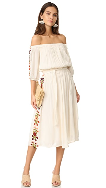 TULAROSA Marty Midi Dress