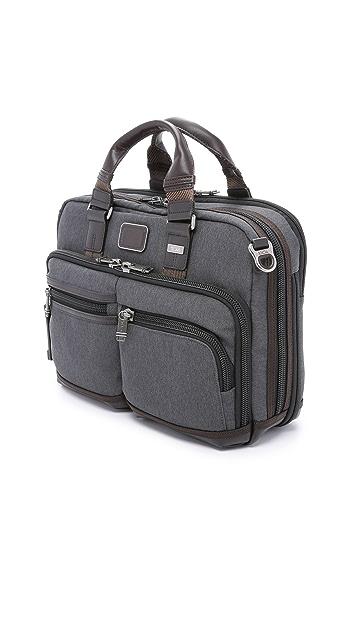 Tumi Alpha Bravo Andersen Slim Commuter Briefcase