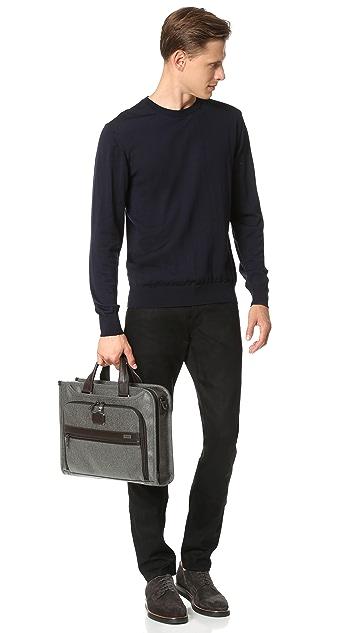 Tumi Alpha 2 Business Slim Deluxe Briefcase
