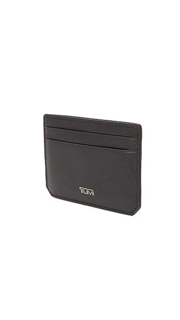Tumi Mason Money Clip Card Case