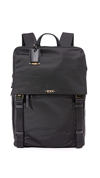 Tumi Sacha Flap Backpack - Black