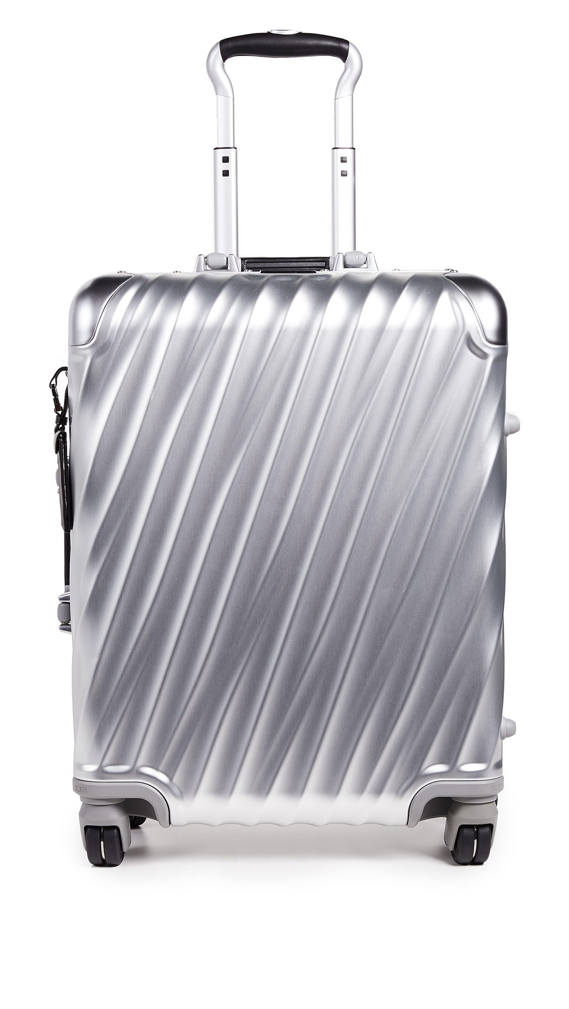 Tumi 19 Degree Aluminum Continental Carry On Suitcase - Silver
