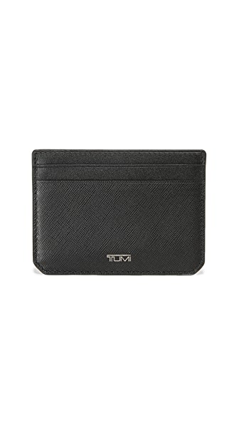 Tumi Mason Leather Slim Card Case ID