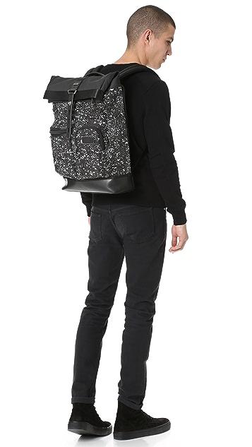 Tumi Alpha Bravo Luke Roll Top Backpack