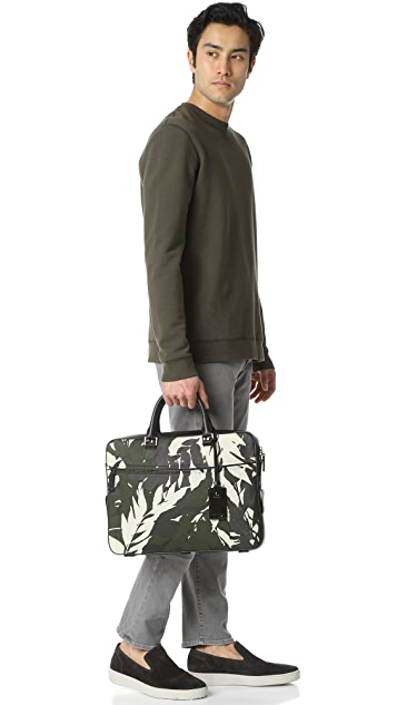 Tumi Landon Leather Bradmoor Slim Briefcase