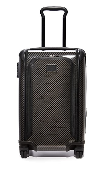 Tumi International Expandable Carry On Suitcase - Black Graphite