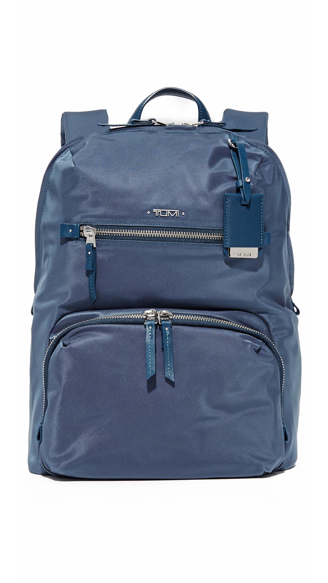 tumi female tumi halle backpack cadet