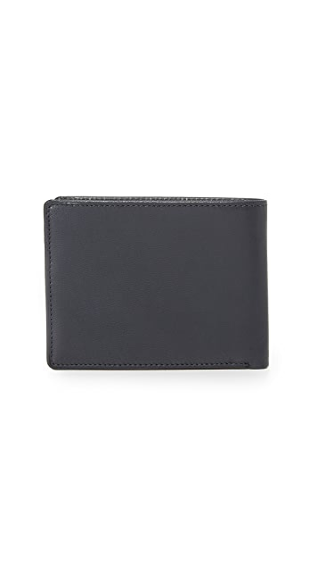 Tumi Chambers Double Billfold with ID Wallet