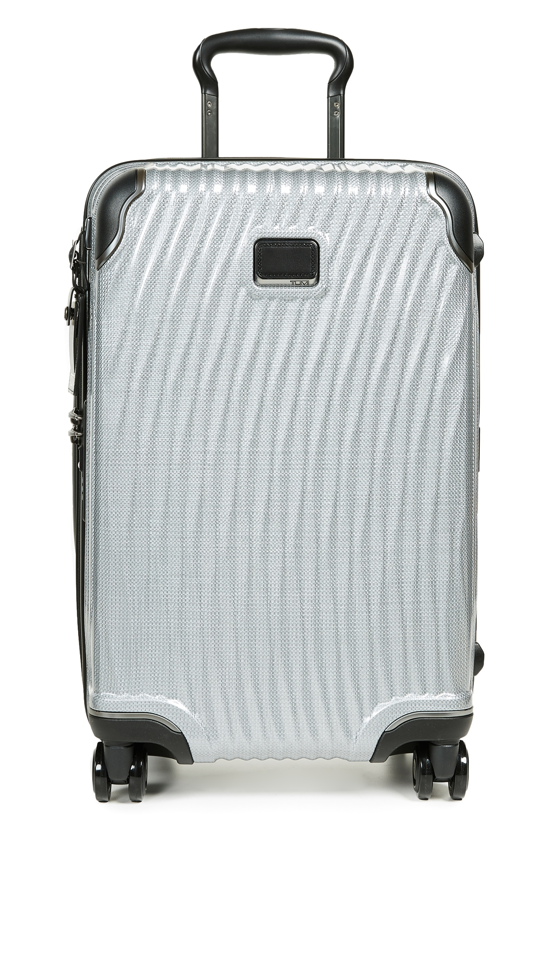 Latitude International Carry On Suitcase, Silver from EAST DANE
