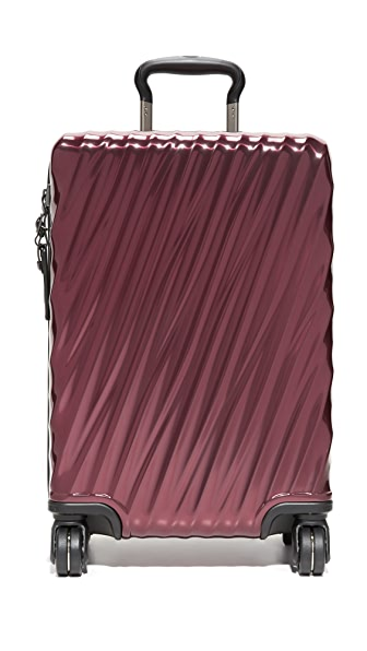 Tumi 19 Degree International Carry On Suitcase - Bordeaux