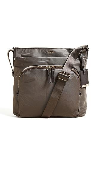 Tumi Capri Cross Body Bag In Mink