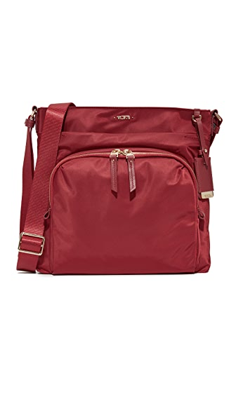 Tumi Capri Cross Body Bag - Crimson