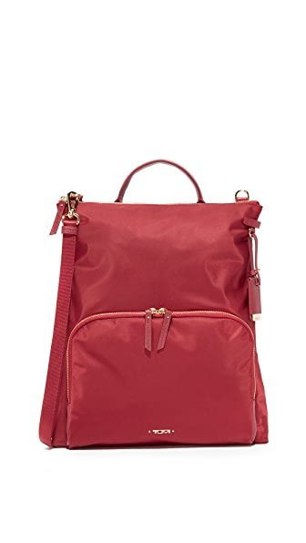 Tumi Jackie Convertible Cross Body Bag - Crimson
