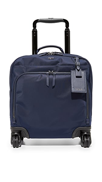 Tumi Oslo 4 Wheel Compact Carry On Luggage - Marine
