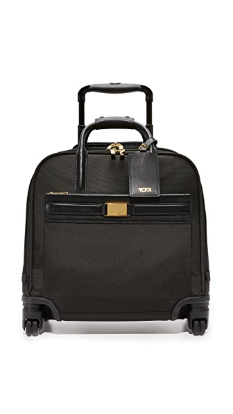 Tumi Shannon Compact Carry On Suitcase - Black