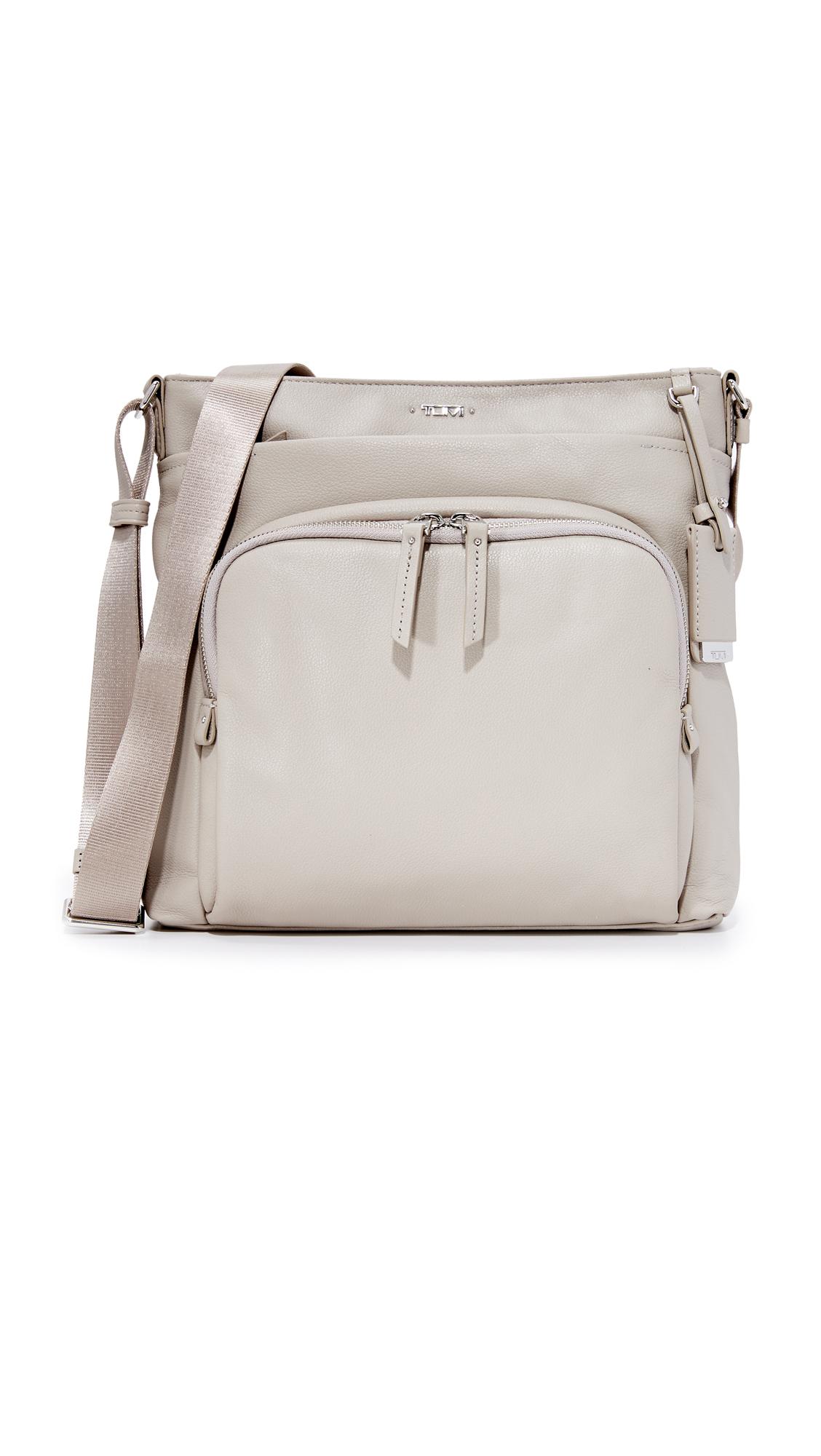 Tumi Capri Cross Body Bag - Grey