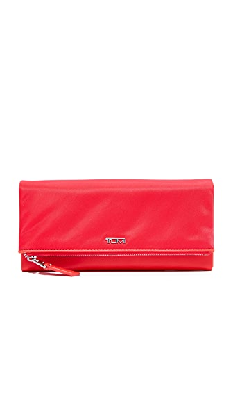 Tumi Flap Wallet - Hot Pink