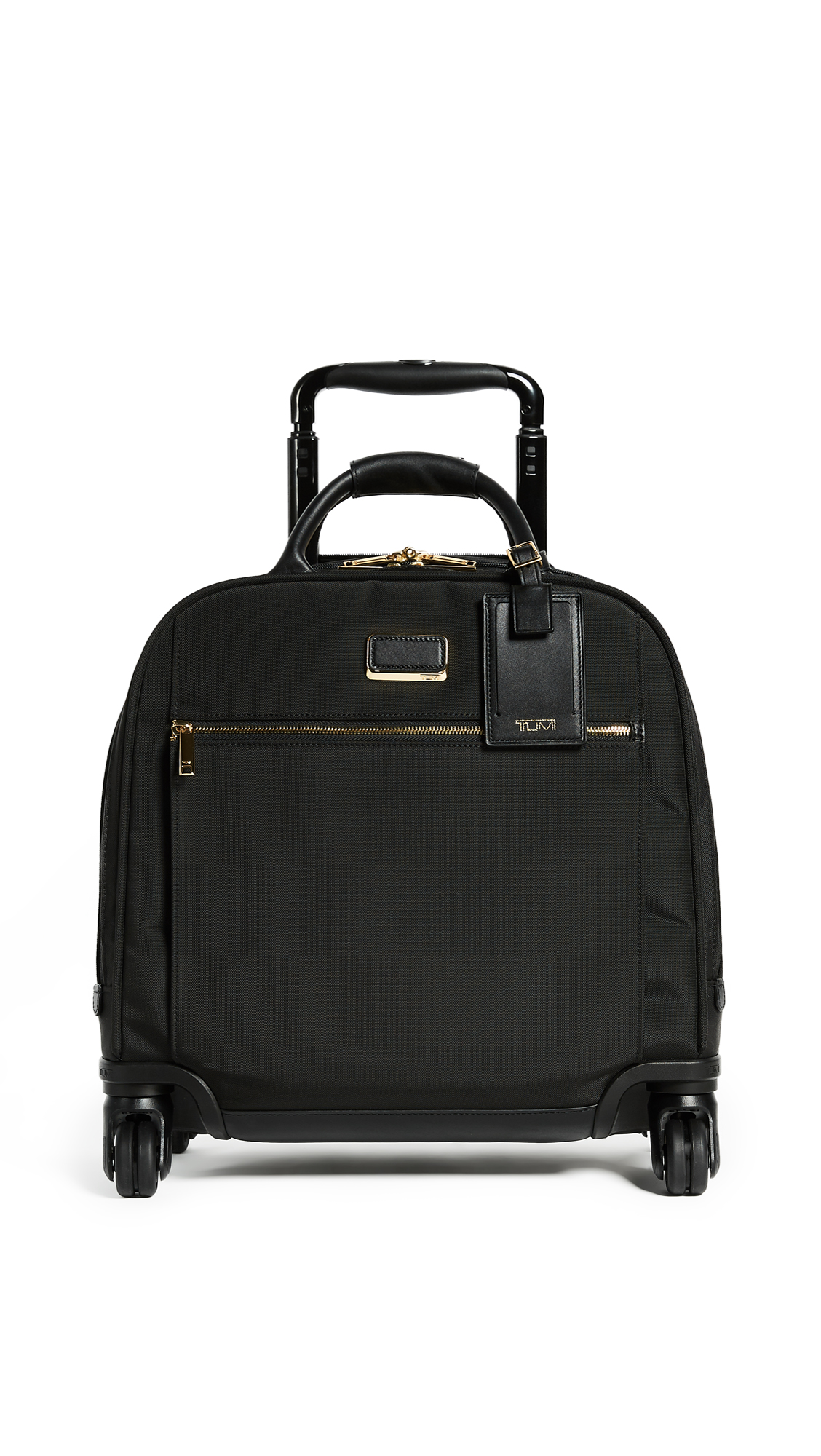 Simone Compact Carry-On Luggage in Black