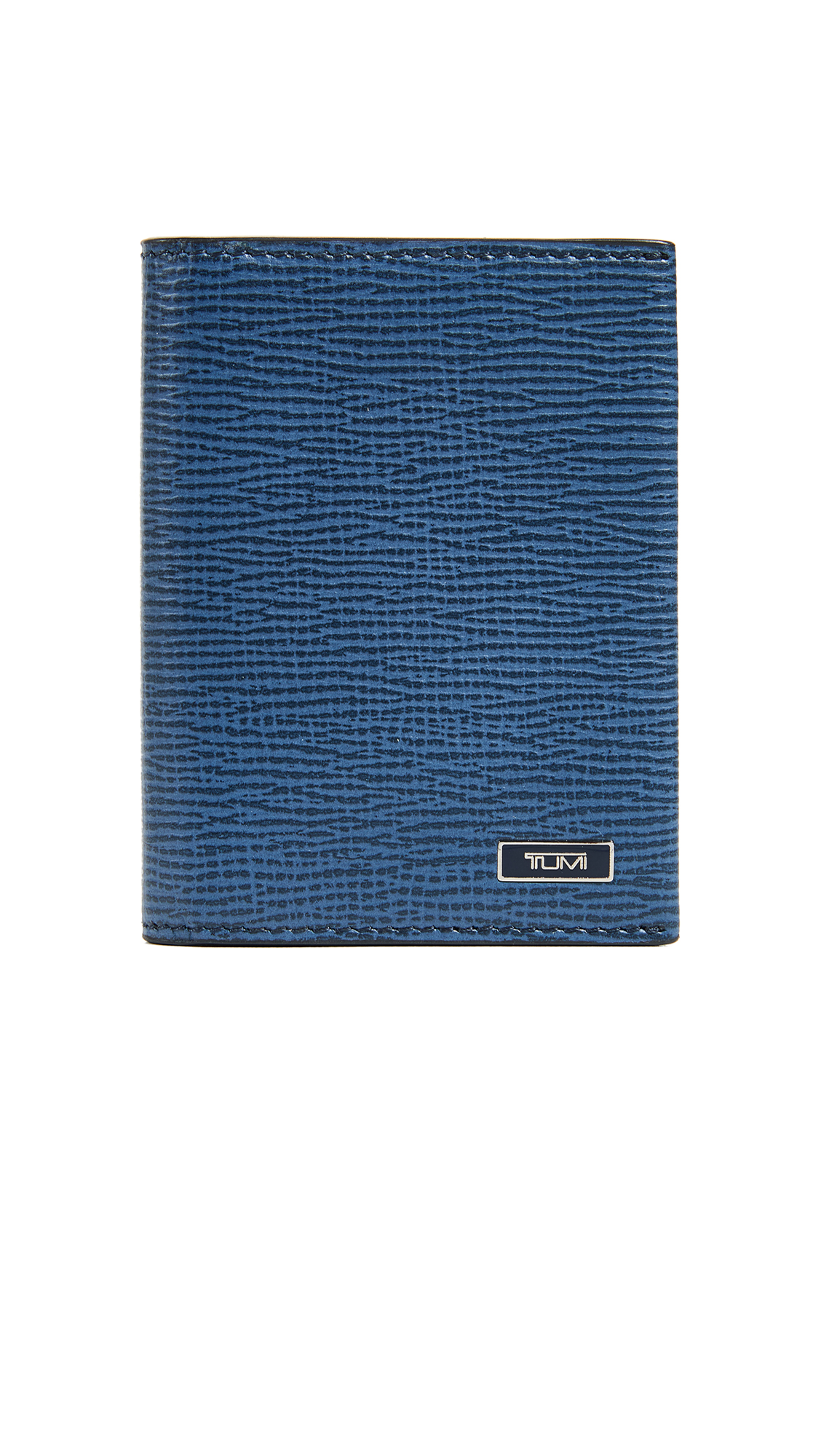 Tumi Monaco Gusseted Card Case - Cobalt