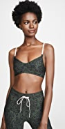 The Upside Army Leopard Ballet Bra