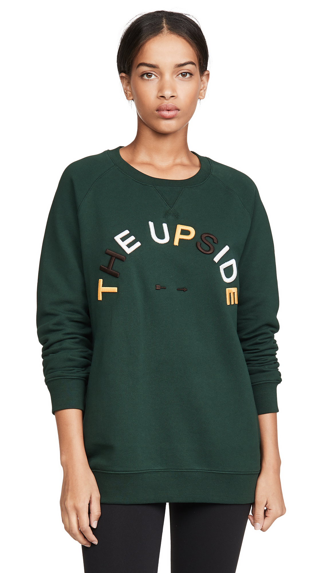 Buy The Upside online - photo of The Upside Horsehoe Sid Crew Sweatshirt
