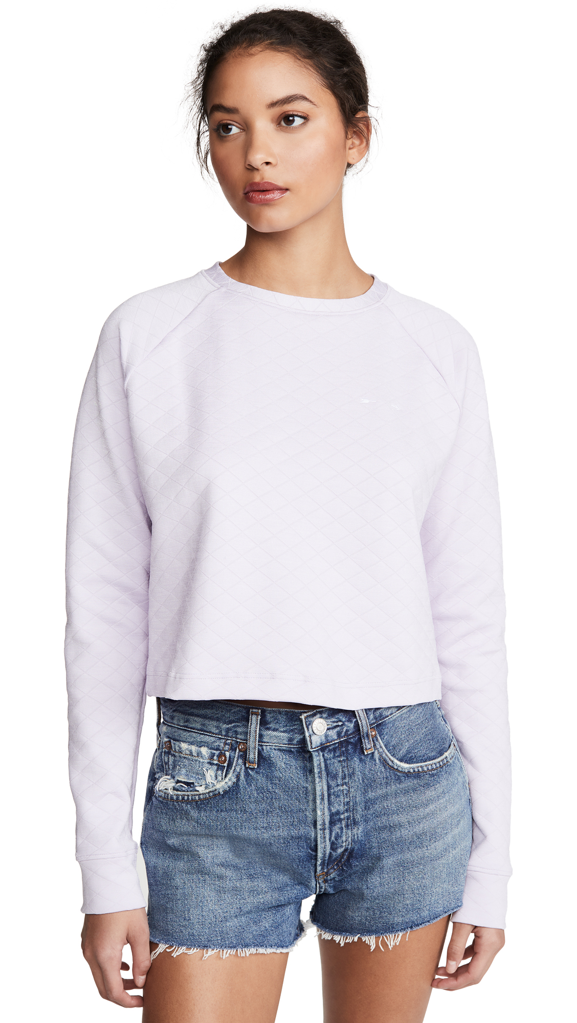 The Upside Faith Crop Crew Sweatshirt - 30% Off Sale