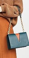 THE VOLON V Chain Shoulder Bag
