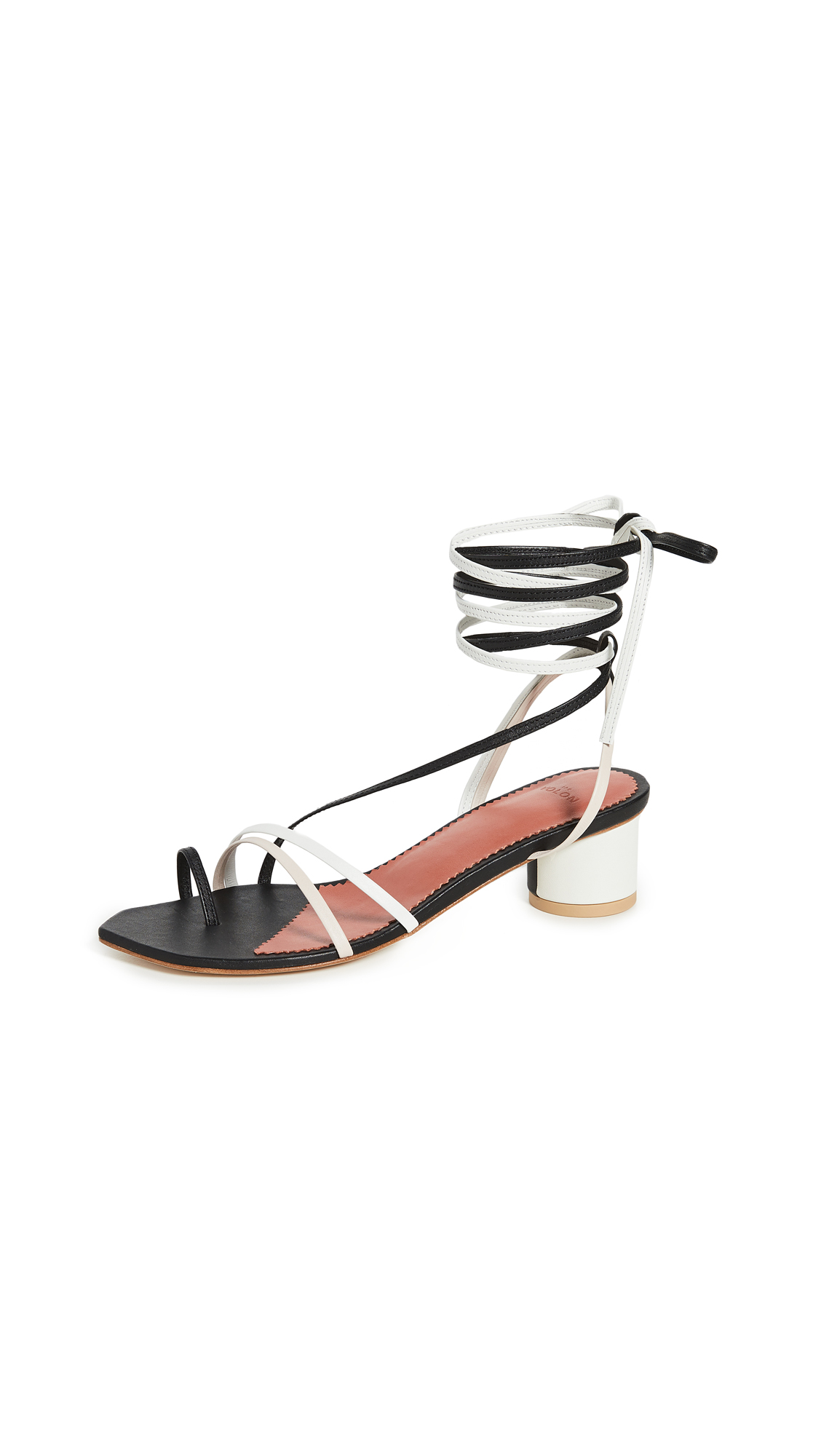 THE VOLON B'Way Sandals - 50% Off Sale