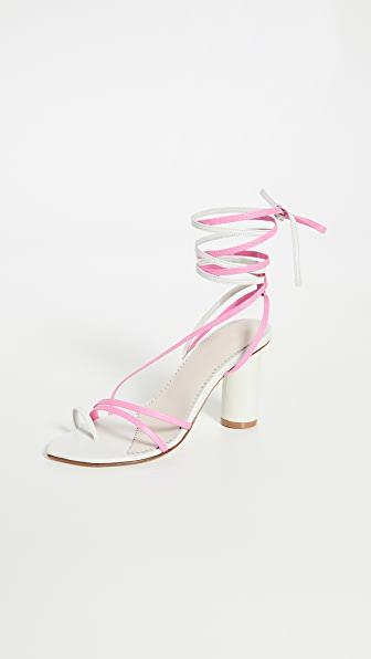 The Volon B'way 2 Sandals In Ivory