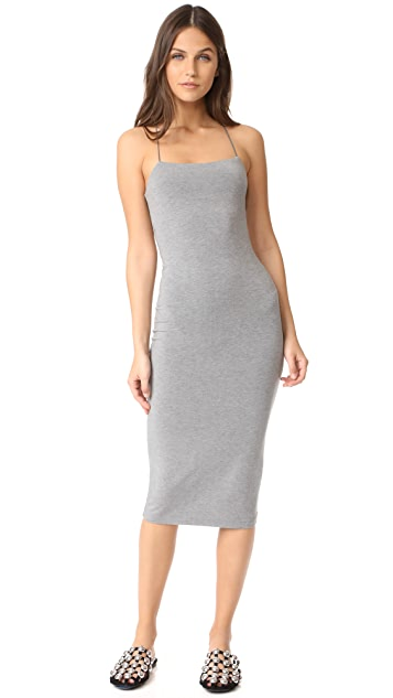 T by Alexander Wang Strappy Tank Dress