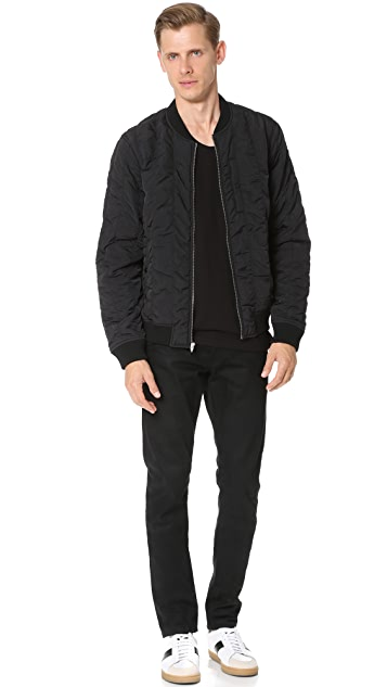 T by Alexander Wang Quilted Bomber