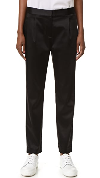 T by Alexander Wang Satin Trousers