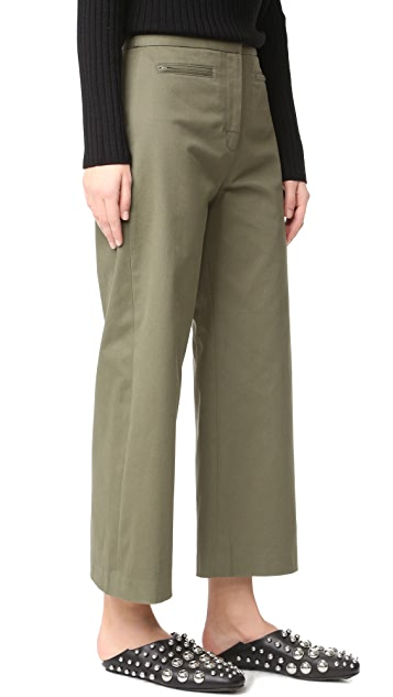 T by Alexander Wang High Waisted Culottes
