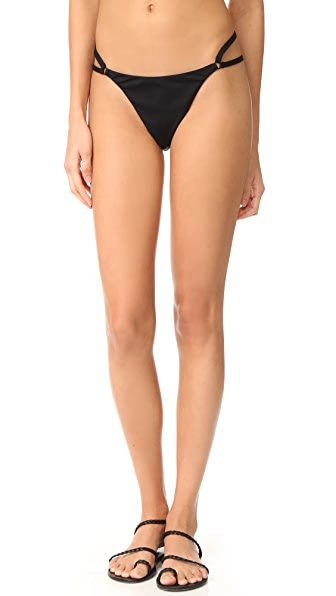 T by Alexander Wang Cutout Detail Bikini Bottoms