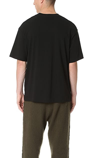 T by Alexander Wang Oversized Short Sleeve Tee