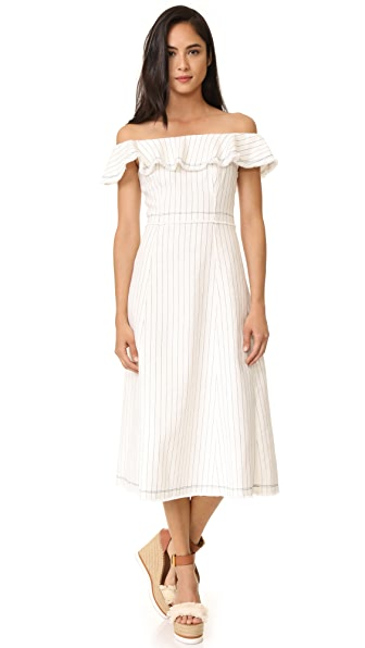T by Alexander Wang Off Shoulder Dress