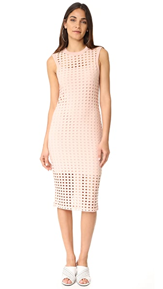 T by Alexander Wang Fitted Tank Dress