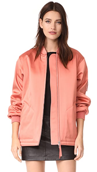 T by Alexander Wang Oversized Bomber Jacket - Fig