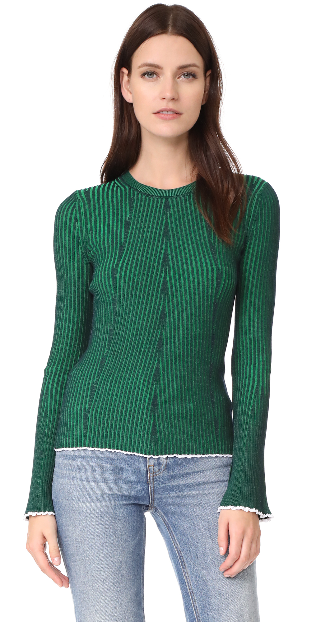Flared Sleeve Sweater T by Alexander Wang