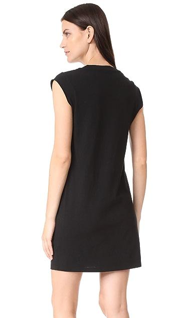 T by Alexander Wang High Twist Jersey Tee Dress