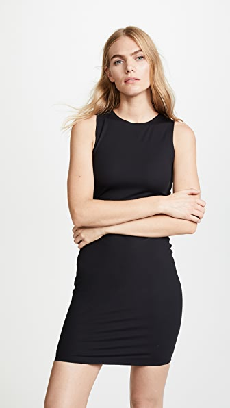 T by Alexander Wang Compact Stretch Mini Dress