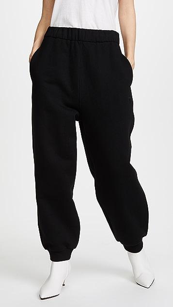 T by Alexander Wang Fleece High Waisted Pants