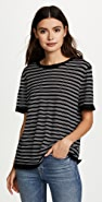 alexanderwang.t Wash & Go Stripe Short Sleeve Tee