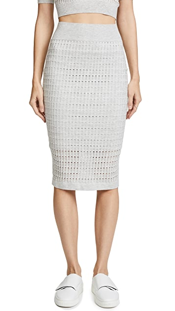 T by Alexander Wang Lace Skirt