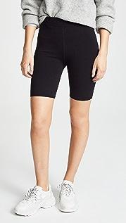 alexanderwang.t Bodycon Basic Biker Shorts