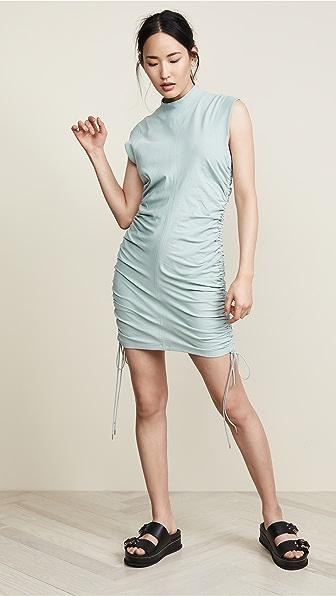 Alexanderwang.t Dresses HIGH TWIST JERSEY DRESS WITH TIES