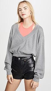 alexanderwang.t Bi-Layer Sweater Top