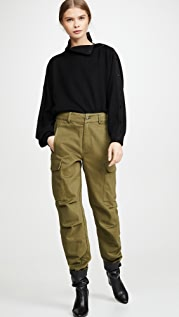 alexanderwang.t 工装裤