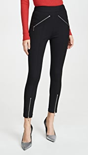 alexanderwang.t Super Stretch Pants with Ball Chain Puller