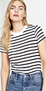 alexanderwang.t Striped Boy Tee